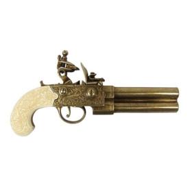 Pistola de pederneira, UK Sec. XVIII - 2