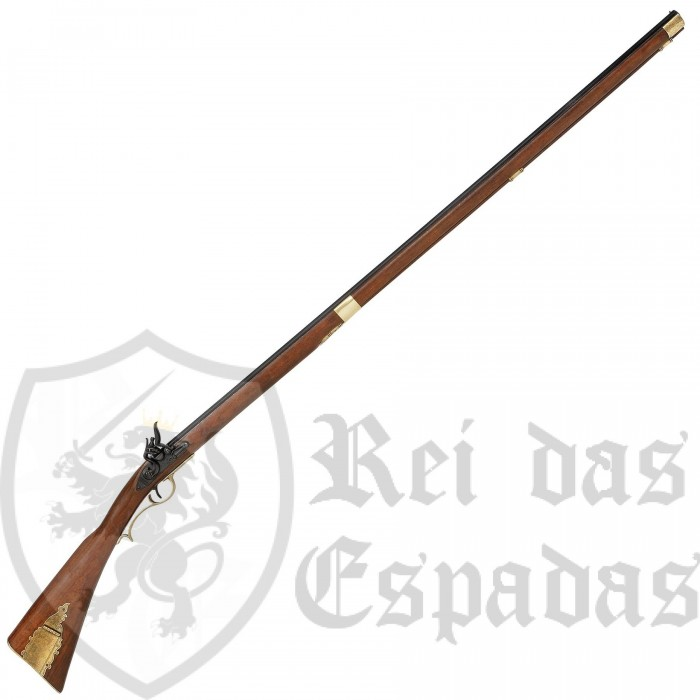 Musket Long Kentucky , USA s.XIX - 2