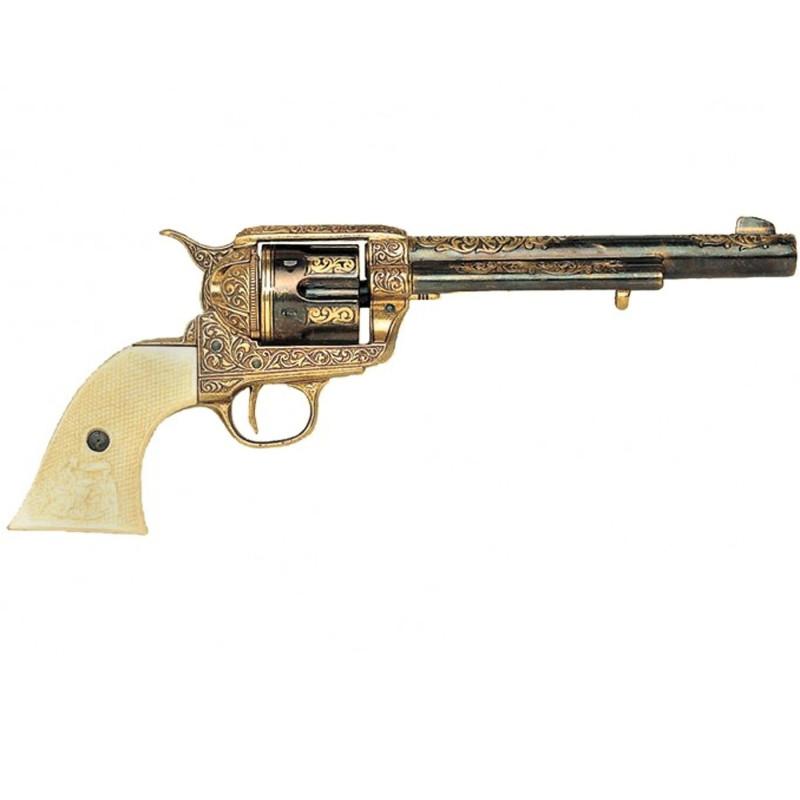 Revolver fabricado pela U. S. Cavalaria S. Colt, 1873,modelo1 - 2