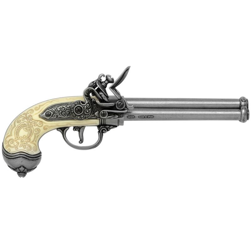 Pistolet italien, 1680 - 2