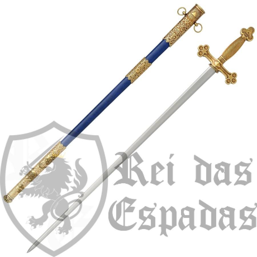 Espada Maçônica (XVIII) com bainha - 2