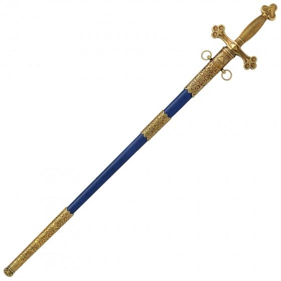 Espada Maçônica (XVIII) com bainha - 3