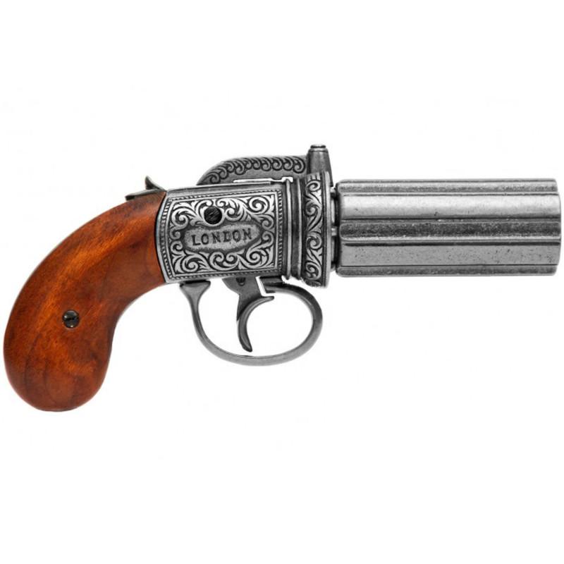 Pistola de pimienta, pavonado - 2