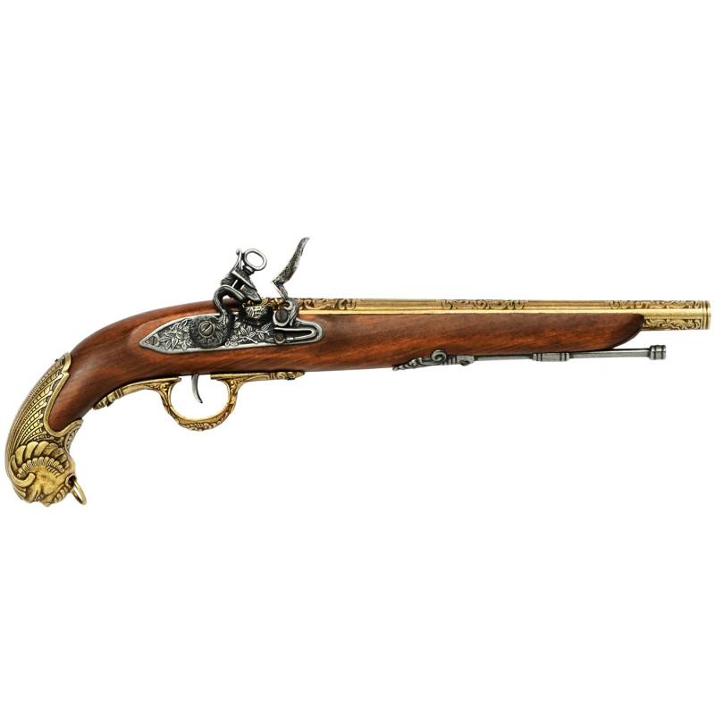 German pistol, 18th century,model5 - 2