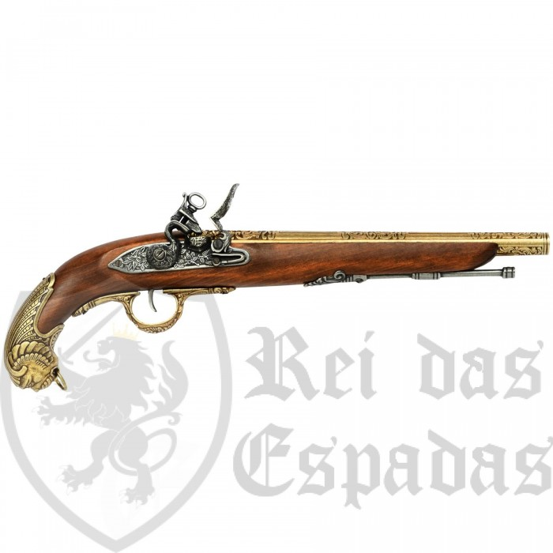 Pistolet allemand, XVIIIe siècle,model5 - 2