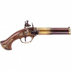 Flint pistol, France s.XVIII - 3