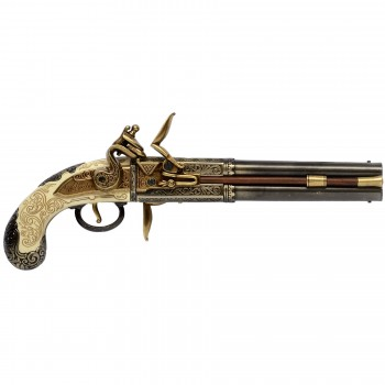 Pistol England 2 cannons, year 1750 - 4