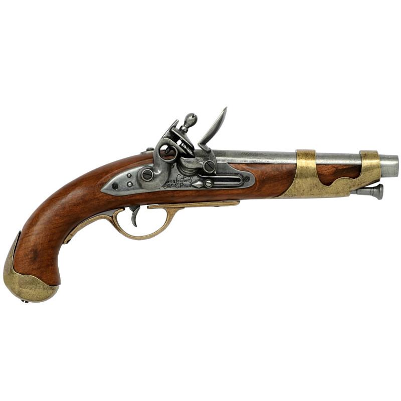 Pistola de caballería francesa, 1800 - 2
