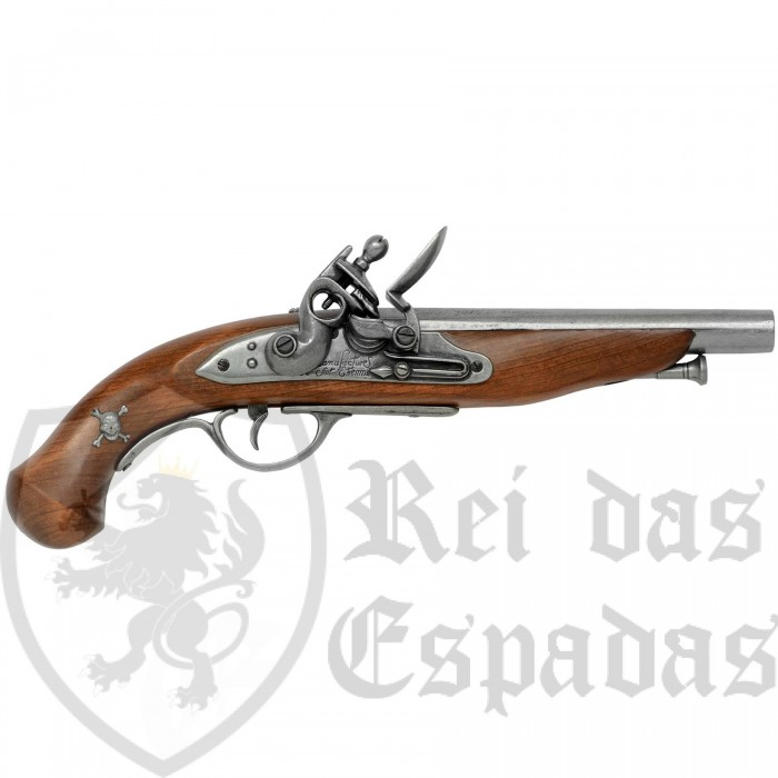 18th century French pirate pistol - 2