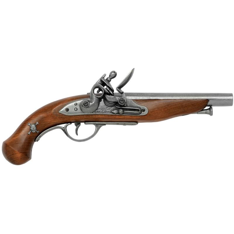 Pistola pirata francés, siglo XVIII - 2