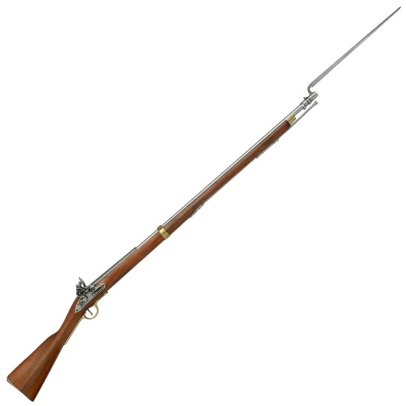 Mosquete Inglês Brown Bess com baioneta (1799-1815) - 2