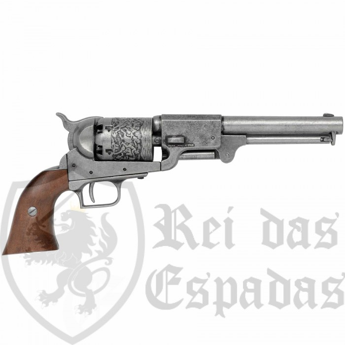 Dragoon Revolver , manufactured by S. Colt, USA 1848 - 2