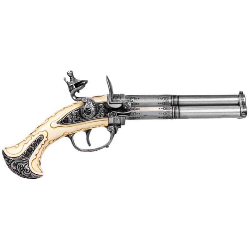 3 barils, des armes à feu du 18ème siècle de France - 2