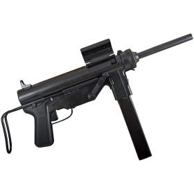"""METRALHADORA M3 .45 """"GREASE GUN"""" USA 1942 - 2"""