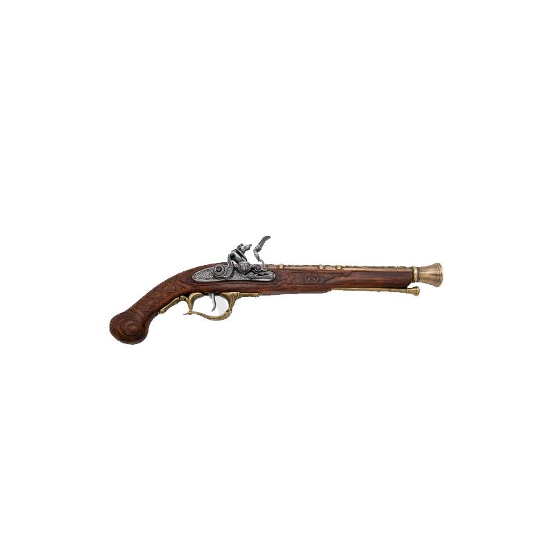 Pistola século XVIII, modelo 3 - 2