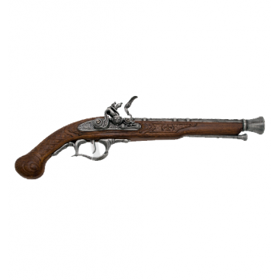 Pistola século XVIII, modelo 4 - 2