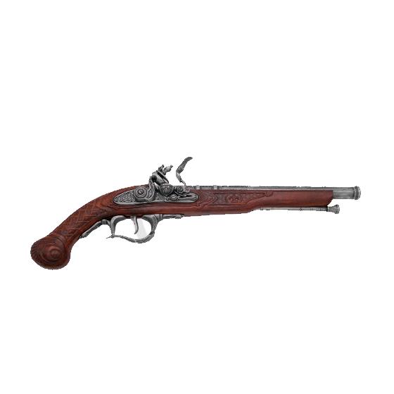 Pistola século XVIII, modelo 6 - 2
