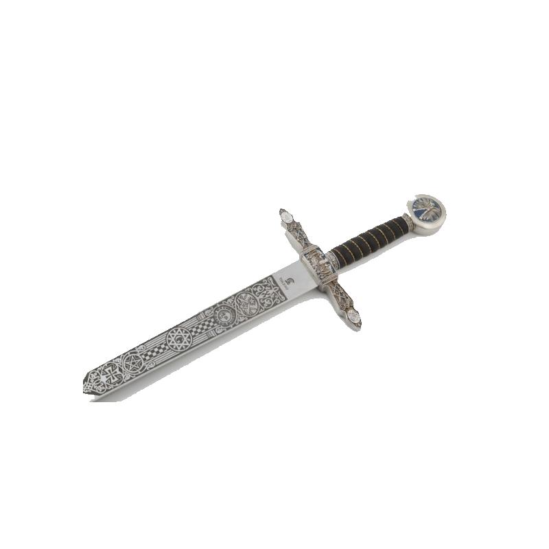 Espada Maçónica Prata sem bainha - 7