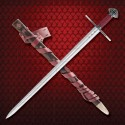 Functional Templar sword with sheath - 5