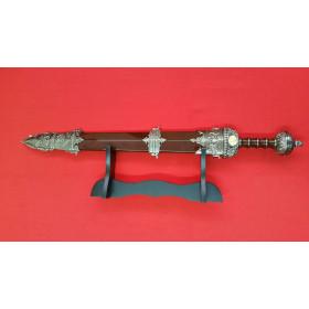 Espada Gladius com bainha e com suporte de mesa - 5