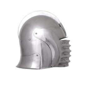 Celada medieval com viseira, ano 1490, funcional - 5