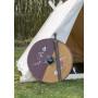 Viking shield wood - 6