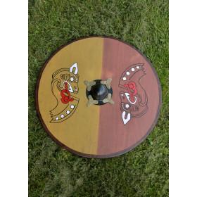 Viking shield wood - 7
