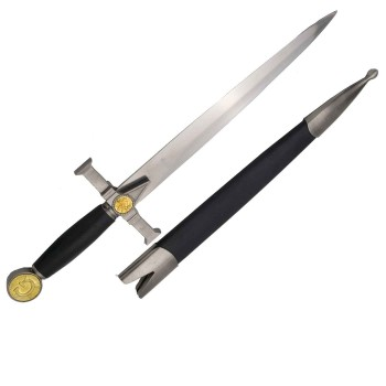 Freemasonty dagger with sheath - 3