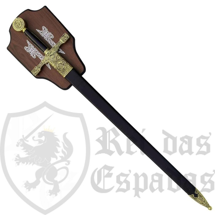 Sword Excalibur with Panoply - 2