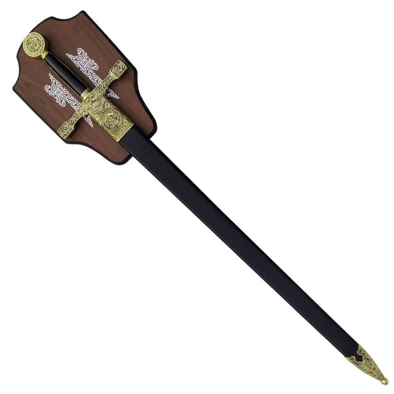 Épée Excalibur avec tableau - 2