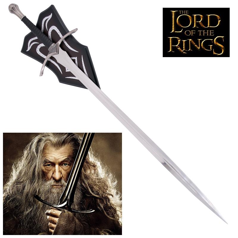 ESPADA GLAMDRING GANDALF, Senhor dos Anéis e suporte - 4