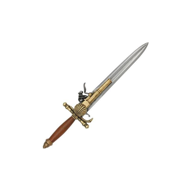 Dague pistolet du 18ème siècle Français - 3
