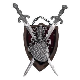 Panóplia com 2 espadas,modelo10 - 2