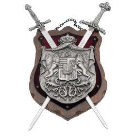 Tableau avec 2 épées - 2