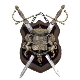 Panóplia com 2 espadas,modelo7 - 2