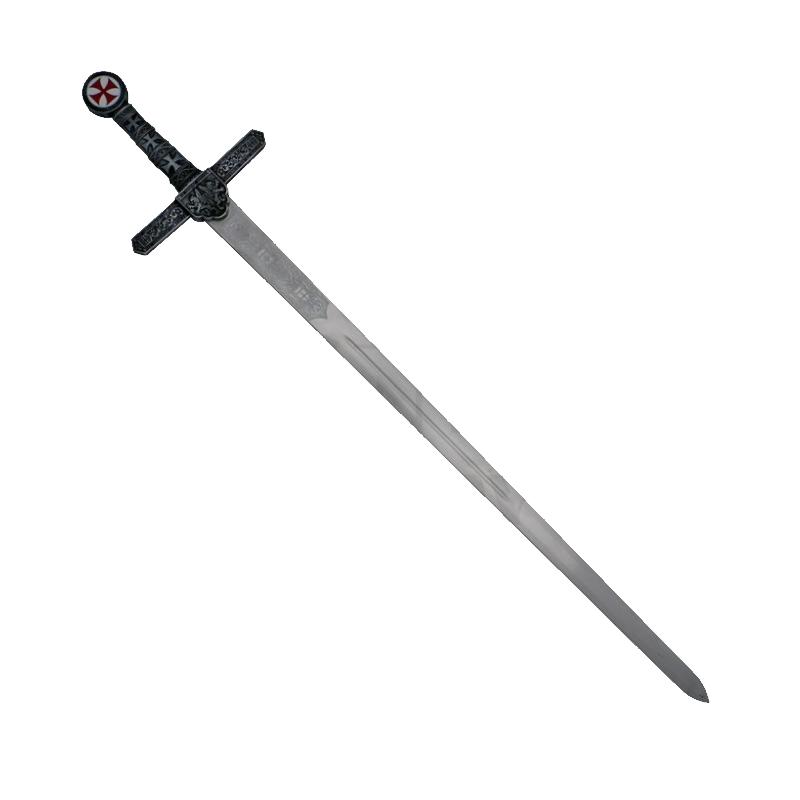 Espada Templária com cruz sem bainha - 3