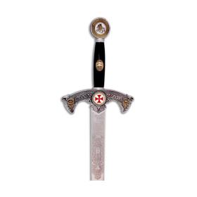 Épée de Templier argentée - 5