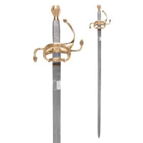 Espada Rapier, século XVII - 1