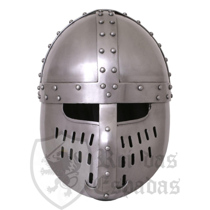 Capacete Norman Spangen, ano 1180 - 6