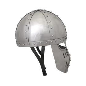 Capacete Spangenhelmet com viseira - 5
