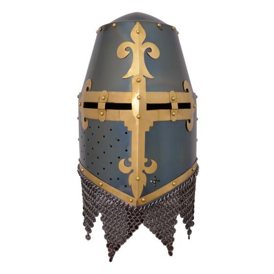 Helm Crusaders Rieter Von Kornburg - 4