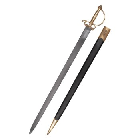Espada curta Europeia, do século XVIII