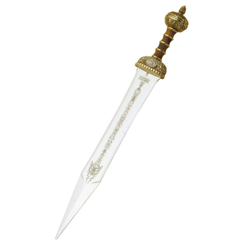 Espada Gladius Júlio César em Bronze sem bainha - 8