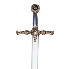 Espada Maçonica sem bainha - 12