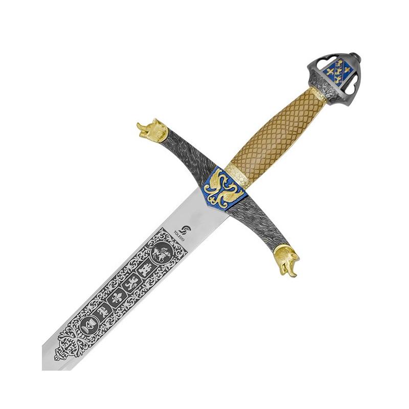 Lancelot Deluxe sword with sheath - 4