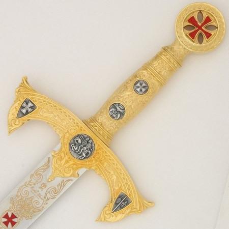 Espada dos Templários Ouro