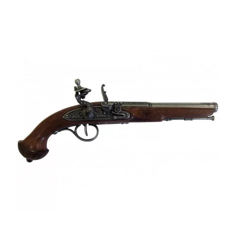 Pistolet à silex, XVIIIe siècle - 2