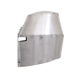 Grande capacete (estilo Pembridge), cerca de 1370, 2 mm de aço - 4