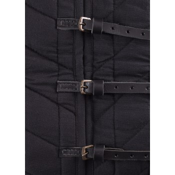 Perponto with buckles, black color - 5