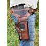 Leather revolver holster - 2
